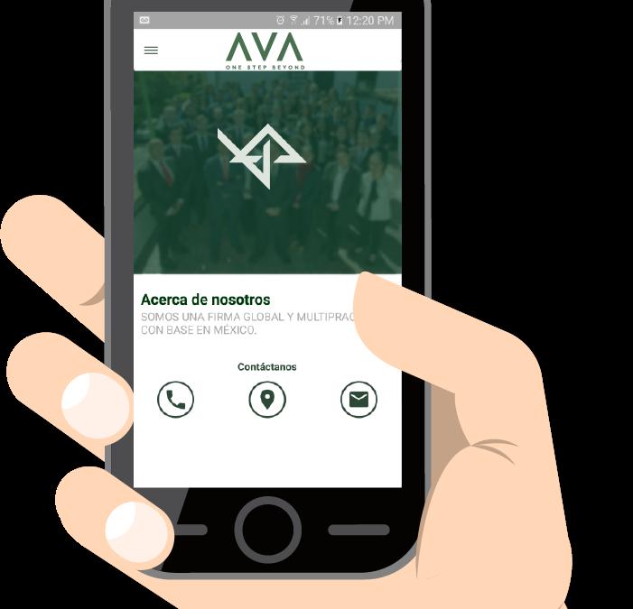 Conoce la App AVA FIRM