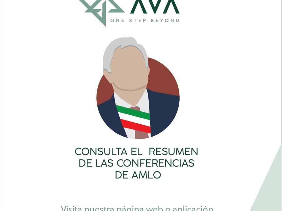Resumen de la Conferencia de prensa de Andrés Manuel López Obrador