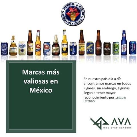 Marcas más valiosas en México