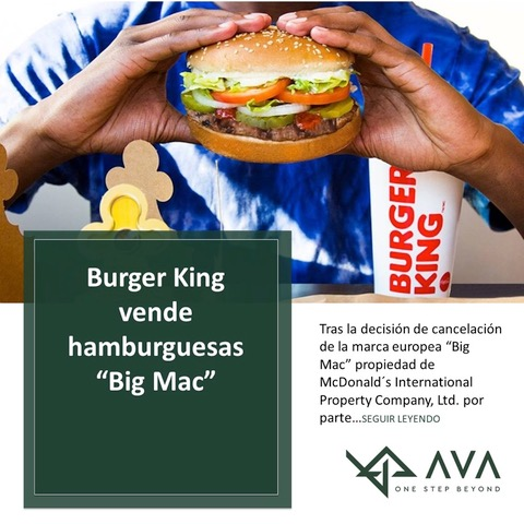 "Burger King vende hamburguesas ""Big Mac"""