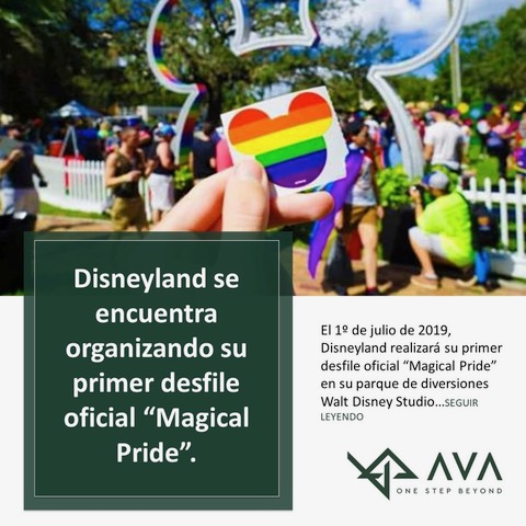 """Disneyland se encuentra organizando su primer desfile oficial """"Magical Pride""""."""