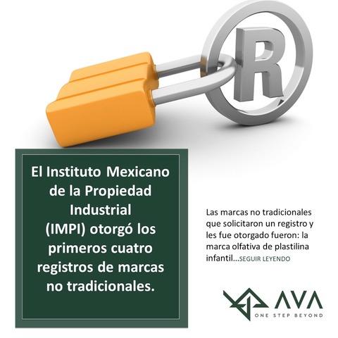 El IMPI otorgó los primeros cuatro registros de marcas no tradicionales.