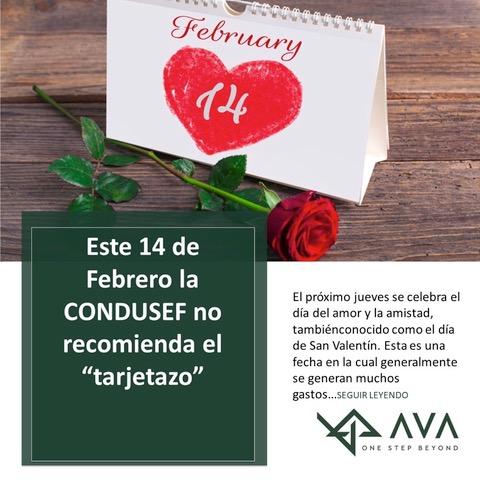 """Este 14 de febrero la CONDUSEF no recomienda el """"TARJETAZO"""""""