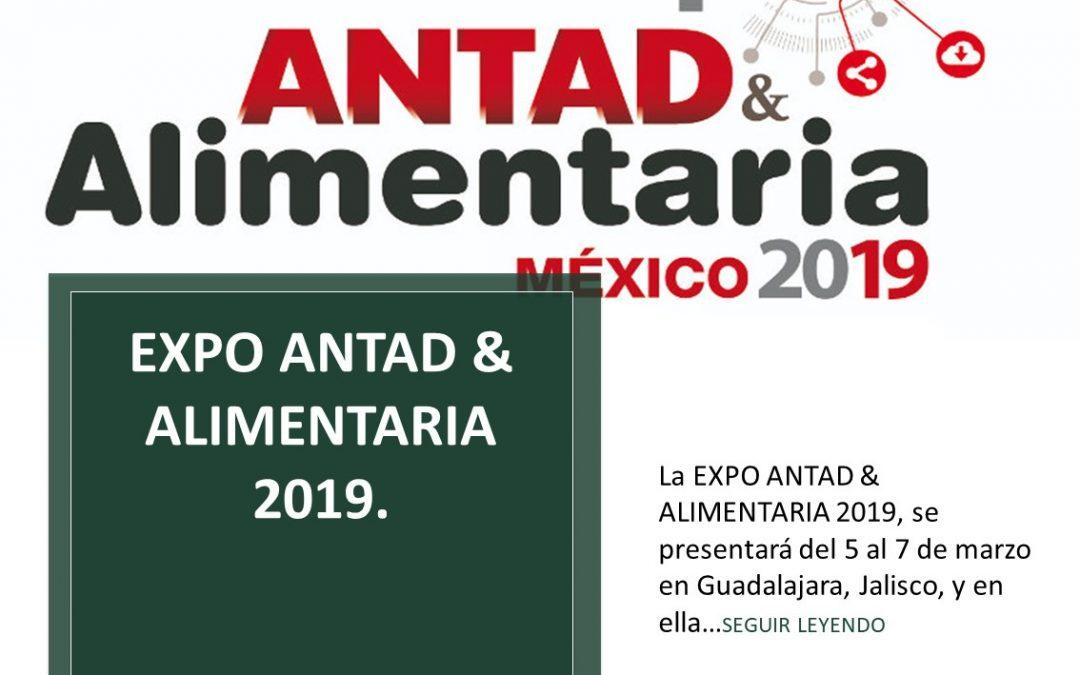 EXPO ANTAD & ALIMENTARIA 2019.