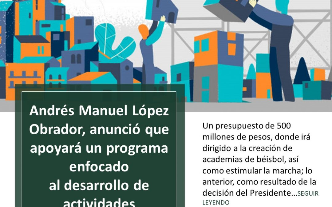El Poder Ejecutivo apoya el deporte en México