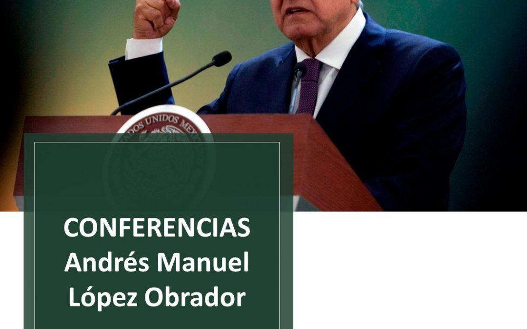 Resumen de la conferencia del Poder Ejecutivo