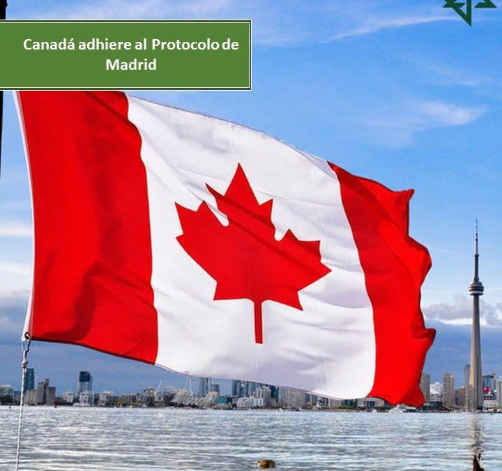 Canadá adhiere al Protocolo de Madrid
