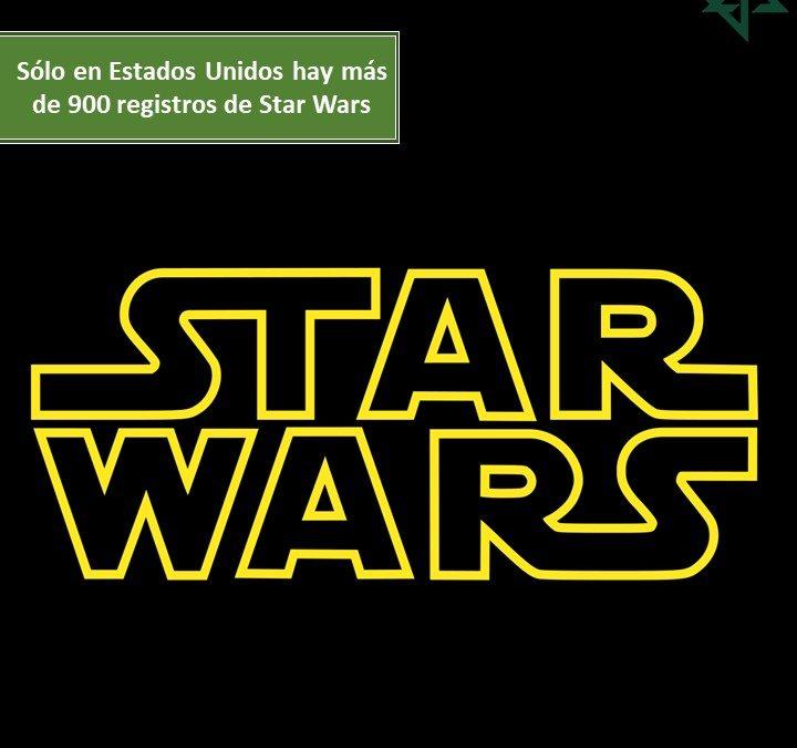 Sólo en Estados Unidos hay más de 900 registros de Star Wars…