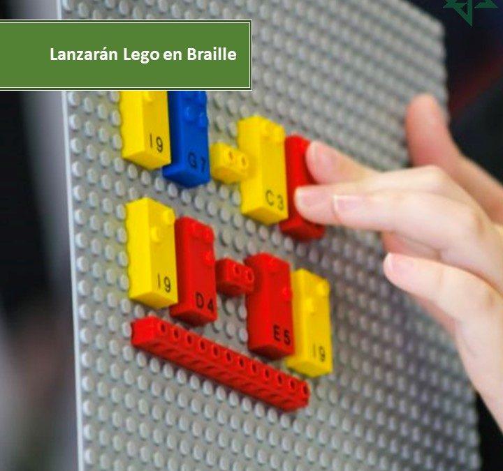 Lazarán Lego en Braille.