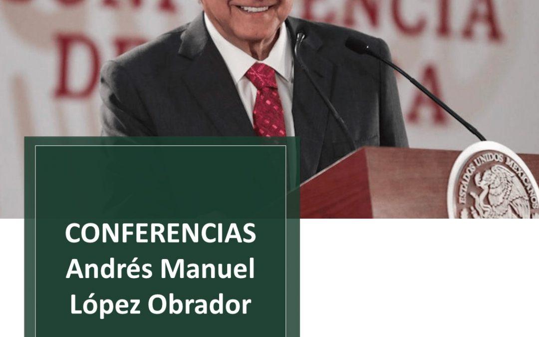Resumen de la Conferencia de Prensa del Poder Ejecutivo