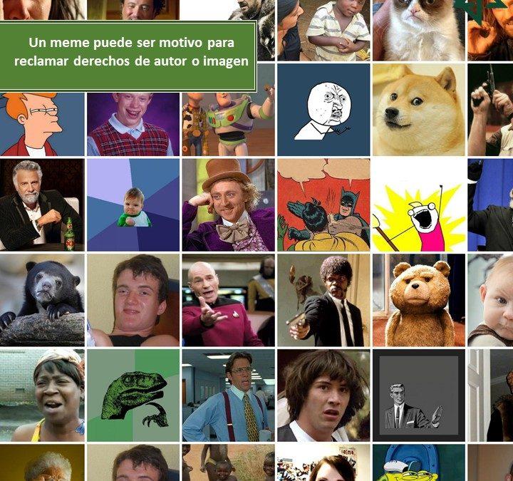 Un meme puede ser motivo para reclamar derechos de autor o imagen
