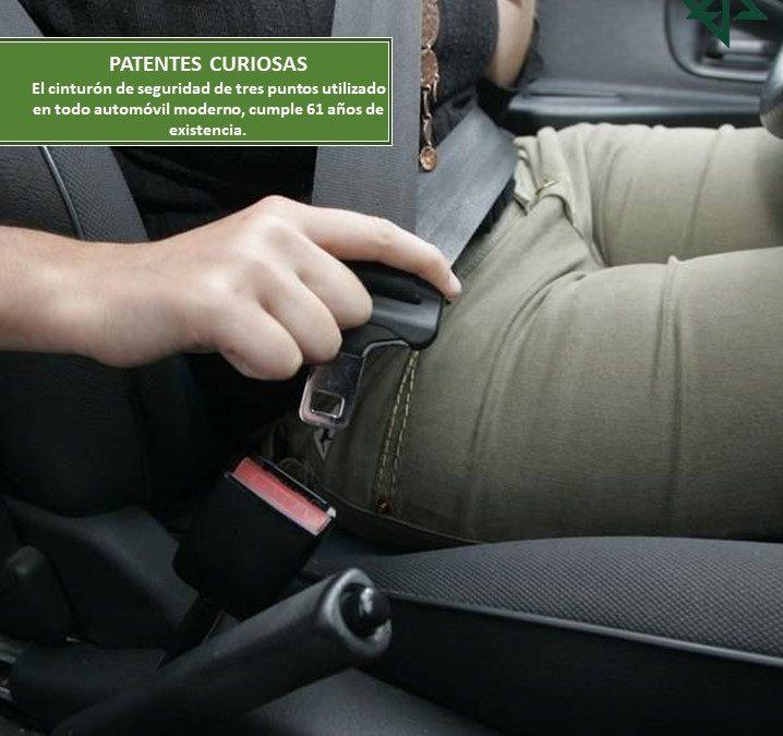 El cinturón de seguridad de tres puntos utilizado en todo automóvil moderno, cumple 61 años de existencia.