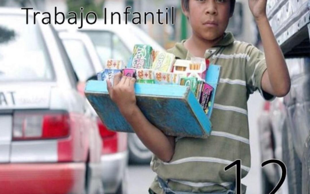 Día mundial contra el trabajo infantil.