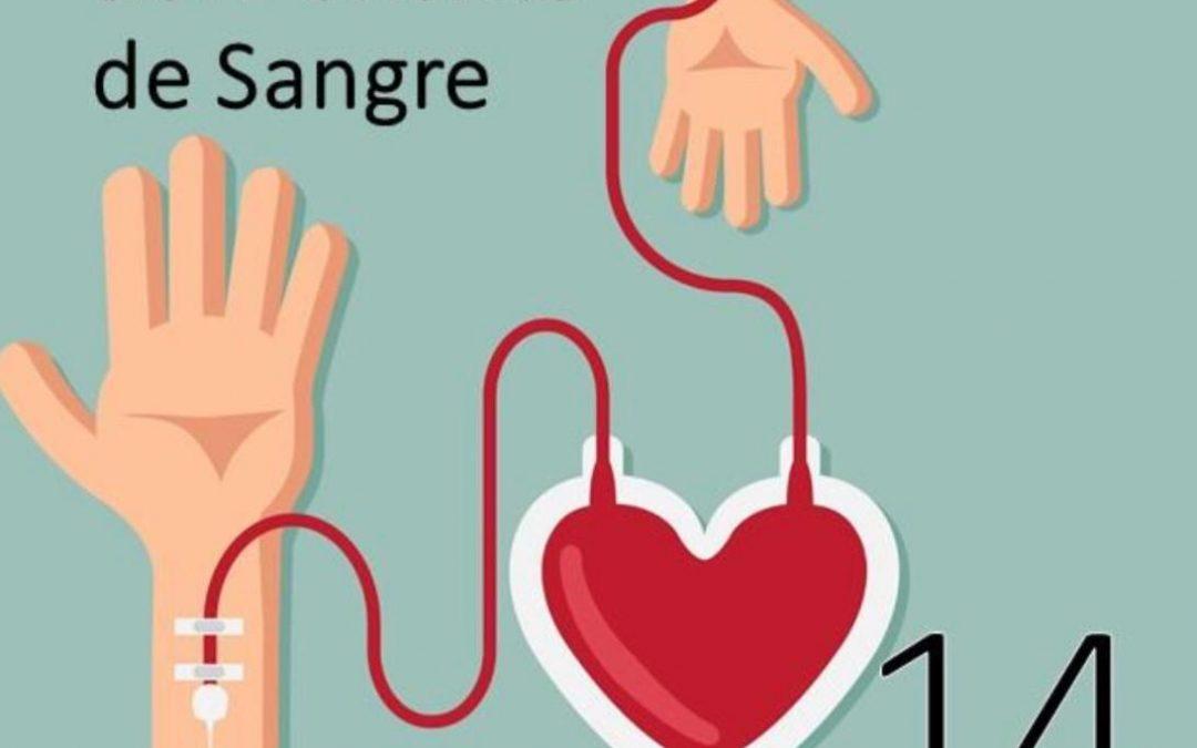 Día Mundial del Donante de Sangre.