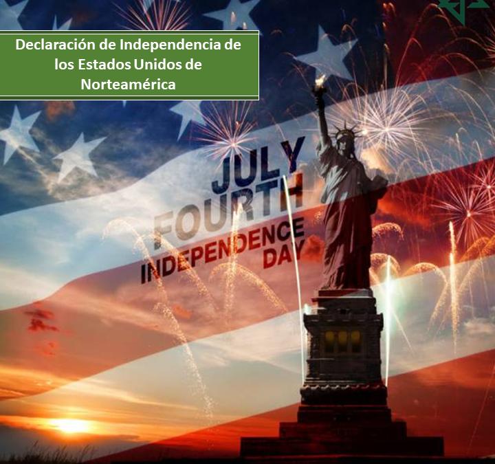 Declaración de Independencia de los Estados Unidos de Norteamérica