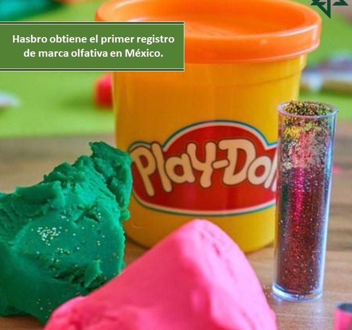 Hasbro obtiene el primer registro de marca olfativa en México.